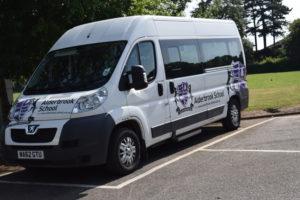Alderbrook School minibus